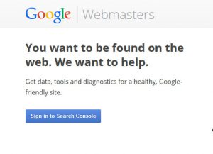 Google Webmaster Search Console